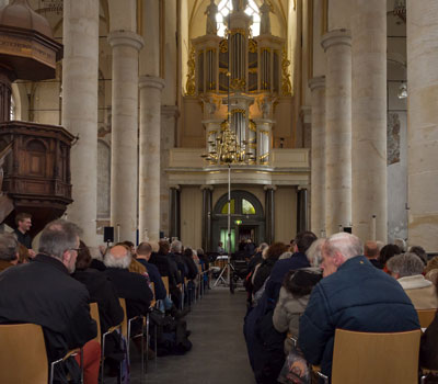 Accordeonorkest REL speelt in de Bergkerk